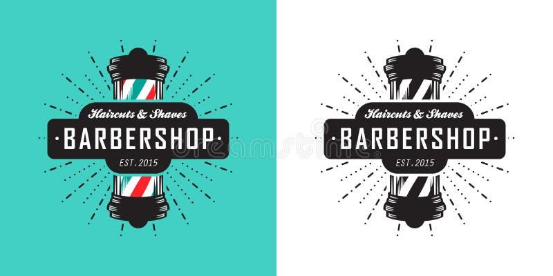 Icono de la barbería stock de ilustración