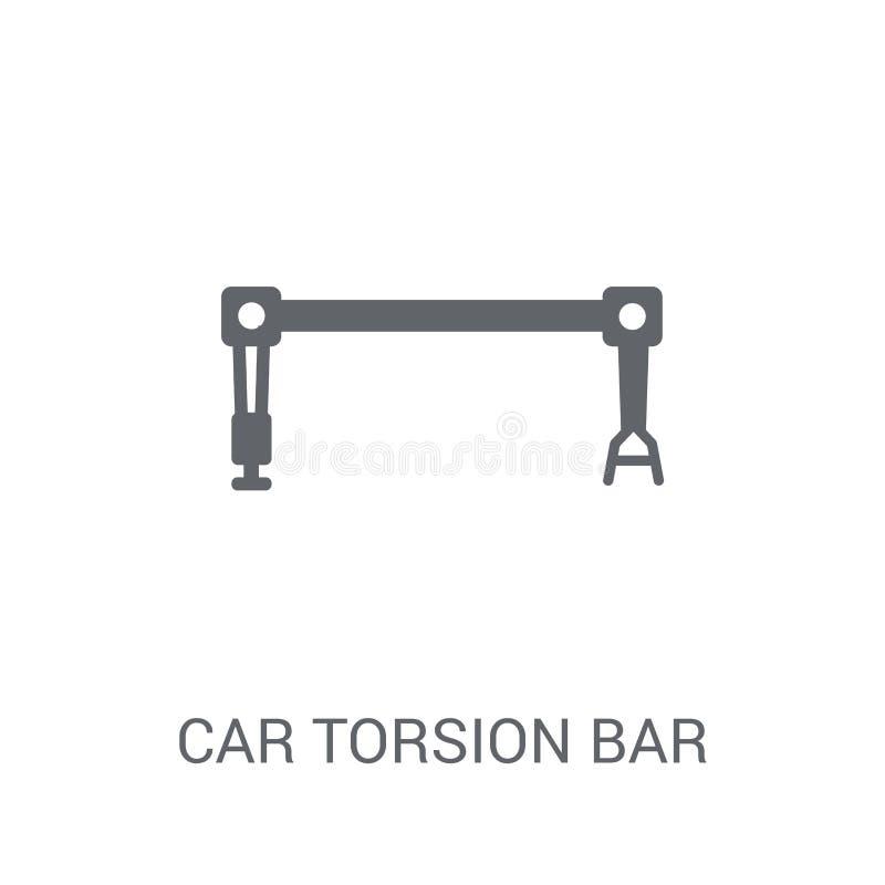icono de la barra de la torsión del coche  libre illustration