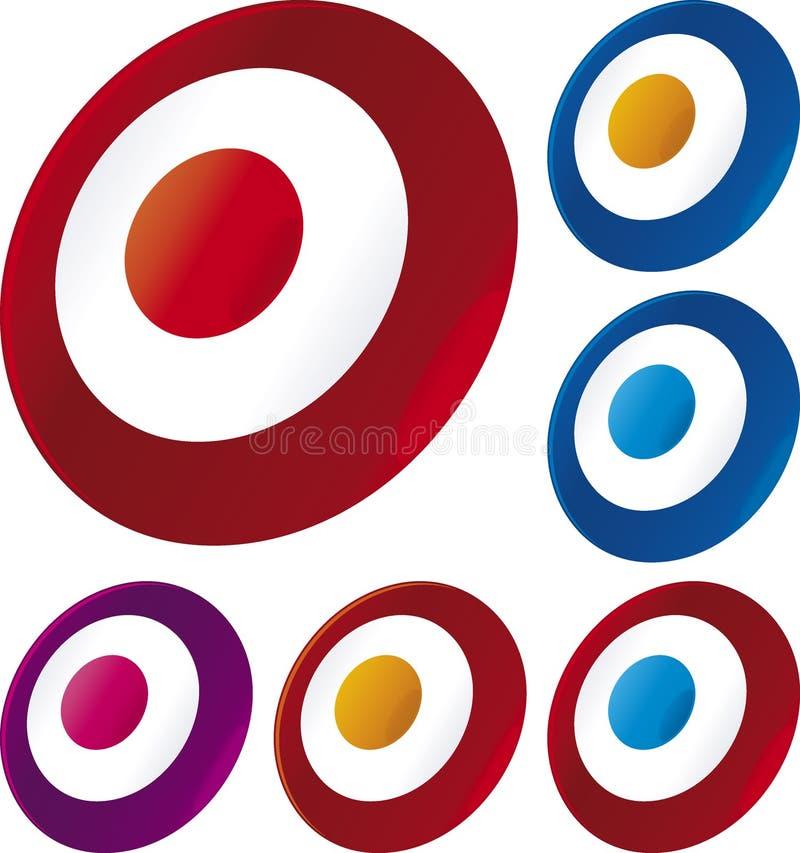Icono de la blanco libre illustration
