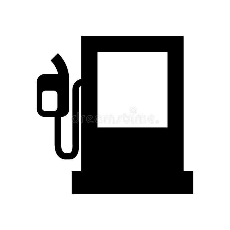 icono de la bomba de la estación del combustible stock de ilustración