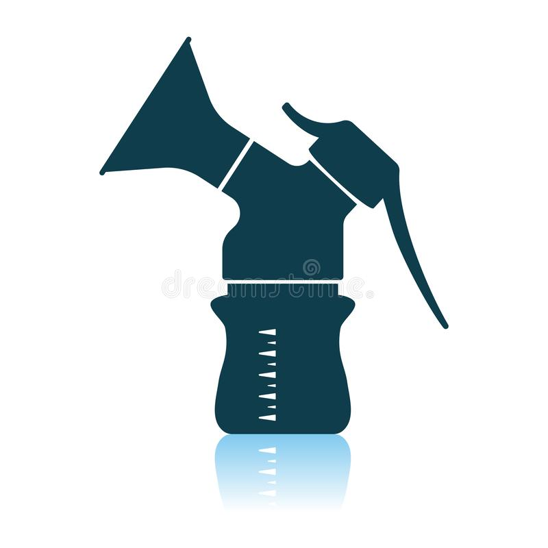 Icono de la bomba de lactancia libre illustration