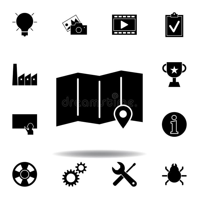 Icono de la bombilla de la idea Las muestras y los s?mbolos se pueden utilizar para la web, logotipo, app m?vil, UI, UX libre illustration