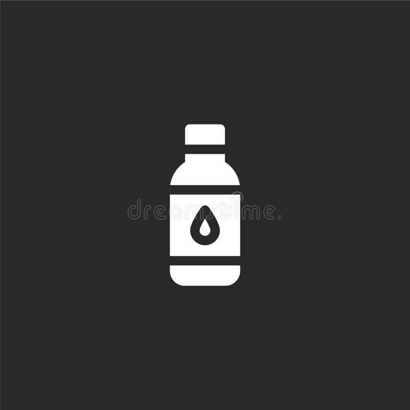 Icono de la botella Icono llenado de la botella para el diseño y el móvil, desarrollo de la página web del app icono de la botell libre illustration