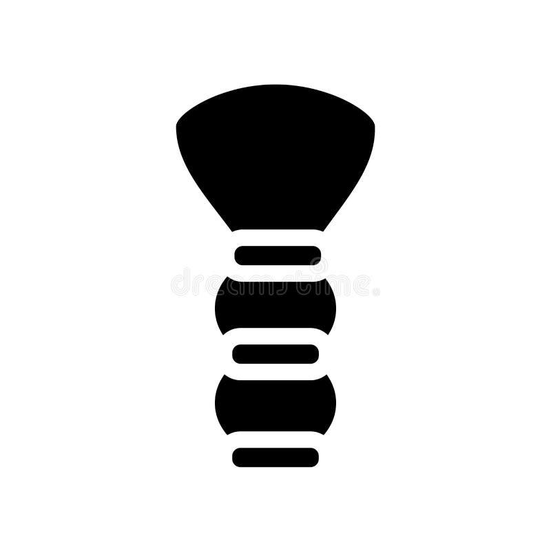 Icono de la brocha de afeitar  libre illustration