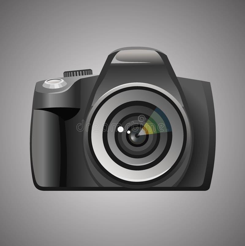 Icono de la cámara stock de ilustración