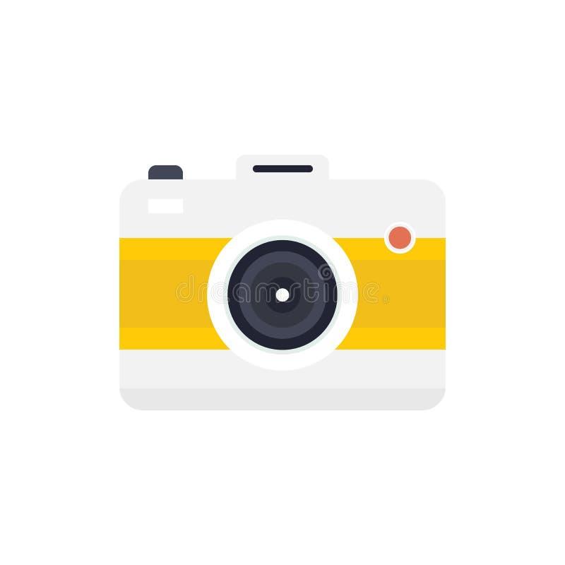 Icono de la cámara, icono eps10 de la cámara fotografía de archivo libre de regalías