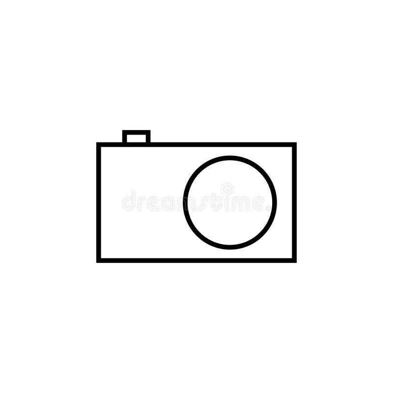 Icono de la c?mara de la foto ilustración del vector