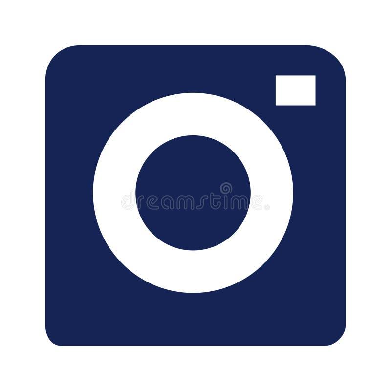 Icono de la c?mara, vector plano de la foto aislado Muestra simple moderna de la fotograf?a de la foto Símbolo de moda inmediato  libre illustration