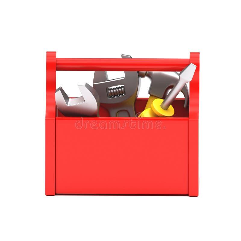 Icono de la caja de las herramientas imagen de archivo