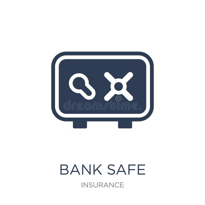 Icono de la caja fuerte del banco  libre illustration