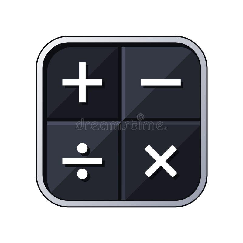 Download Icono de la calculadora ilustración del vector. Ilustración de cálculos - 100527753