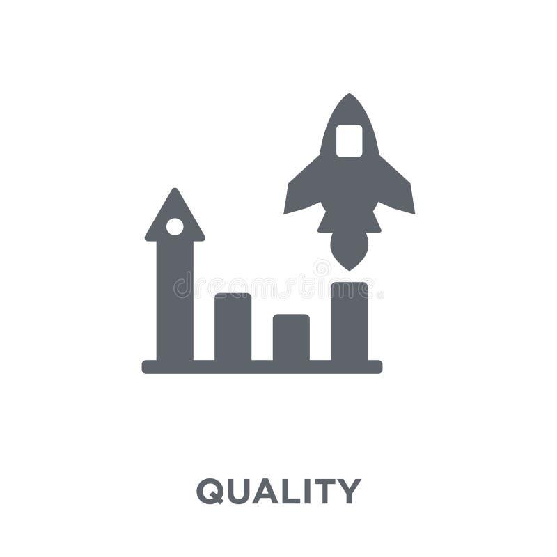 Icono de la calidad de la colección stock de ilustración