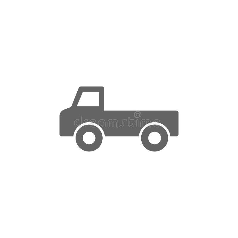icono de la camioneta pickup Elemento del icono simple del transporte Icono superior del dise?o gr?fico de la calidad Muestras e  ilustración del vector