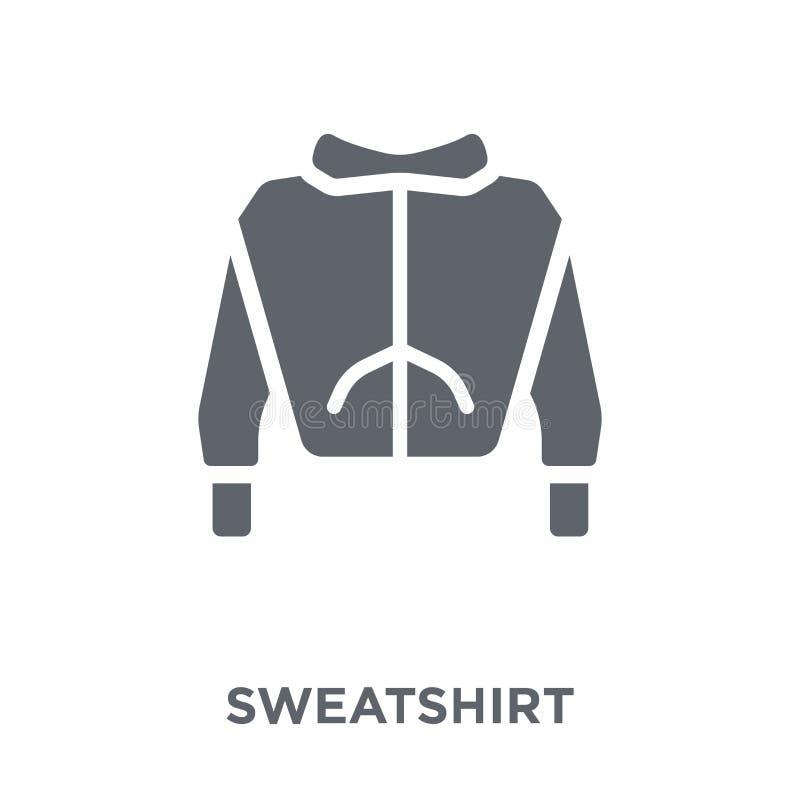 Icono de la camiseta de la colección de la ropa stock de ilustración