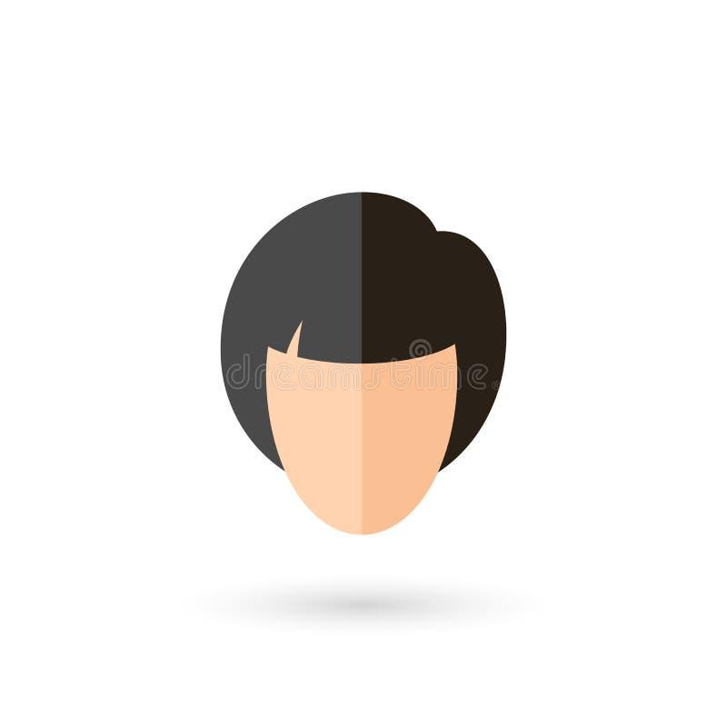 Icono de la cara libre illustration