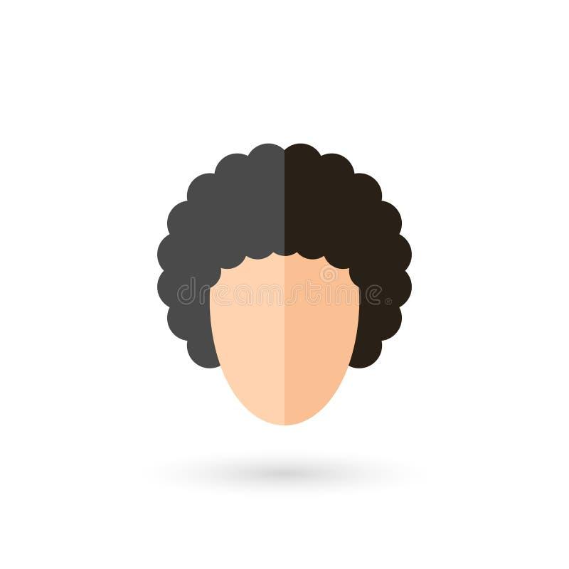 Icono de la cara stock de ilustración