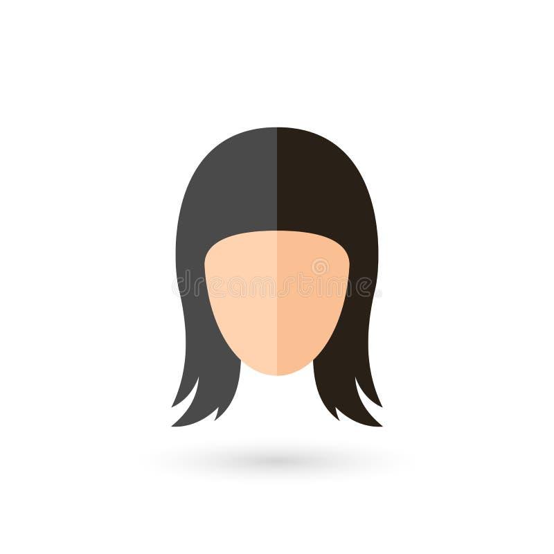 Icono de la cara ilustración del vector