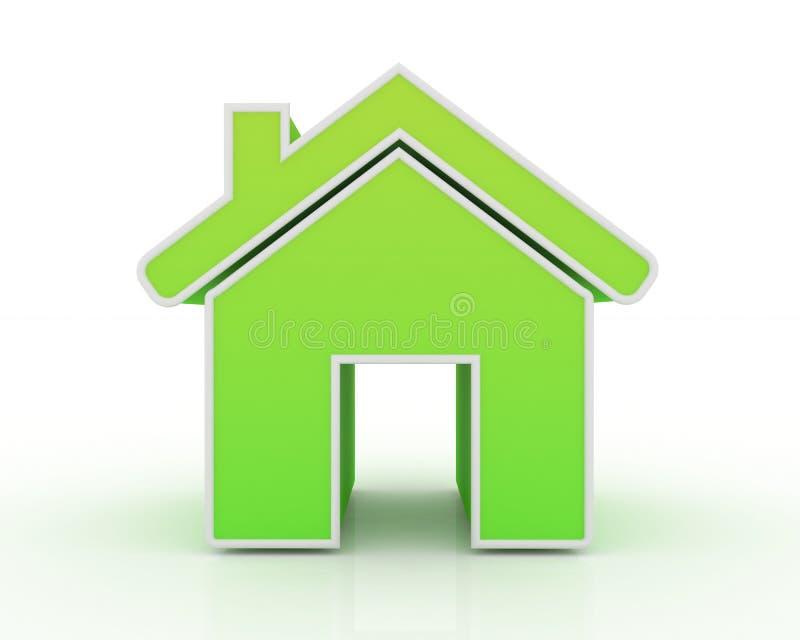 Icono de la casa stock de ilustración