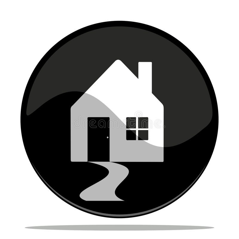 Icono de la casa libre illustration