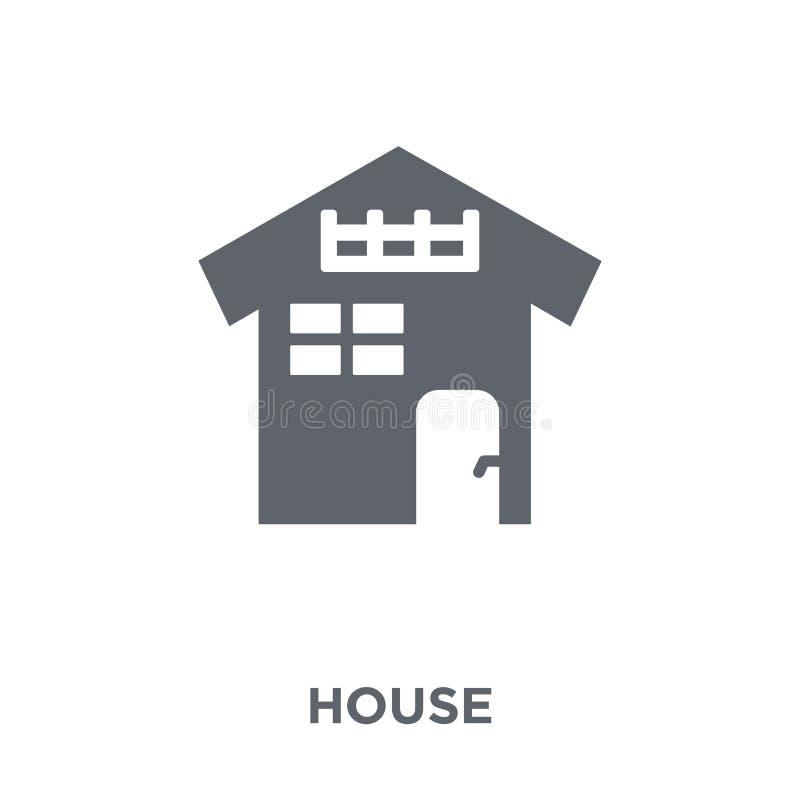 Icono de la casa de la colección ilustración del vector
