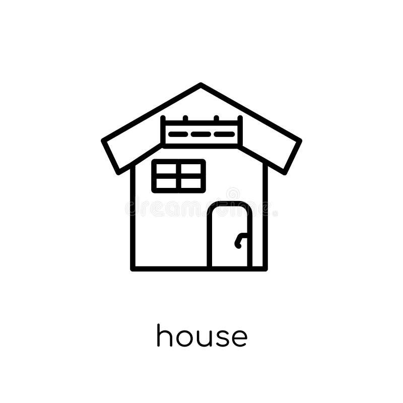 Icono de la casa de la colección libre illustration
