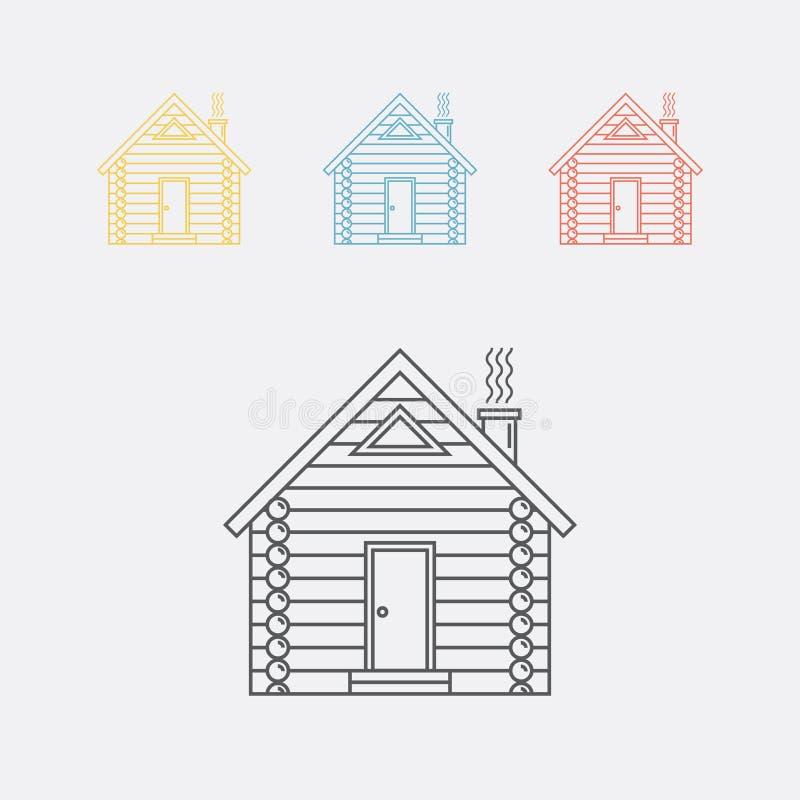 Icono de la casa de registro libre illustration