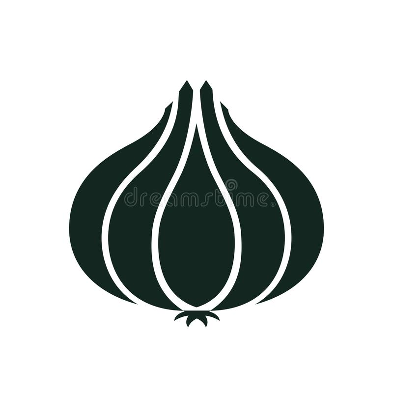 Icono de la cebolla - vector común libre illustration
