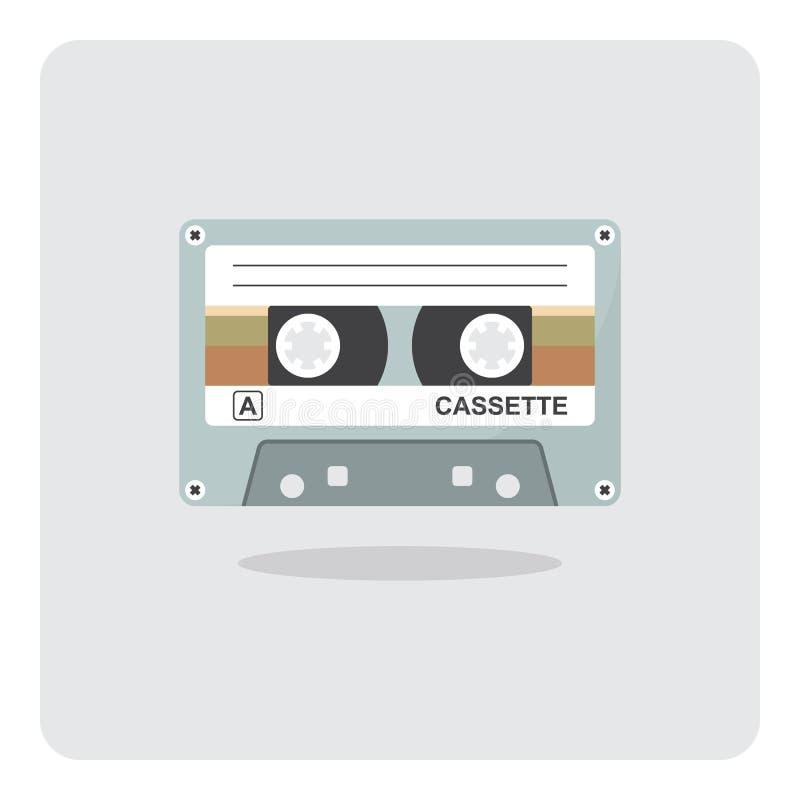 Icono de la cinta de casete libre illustration