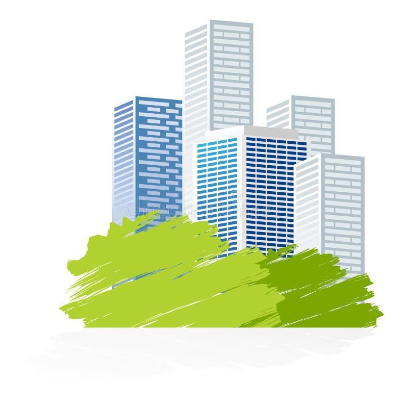 Icono de la ciudad libre illustration