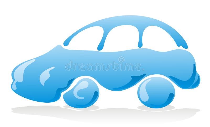 Icono de la colada de coche ilustración del vector