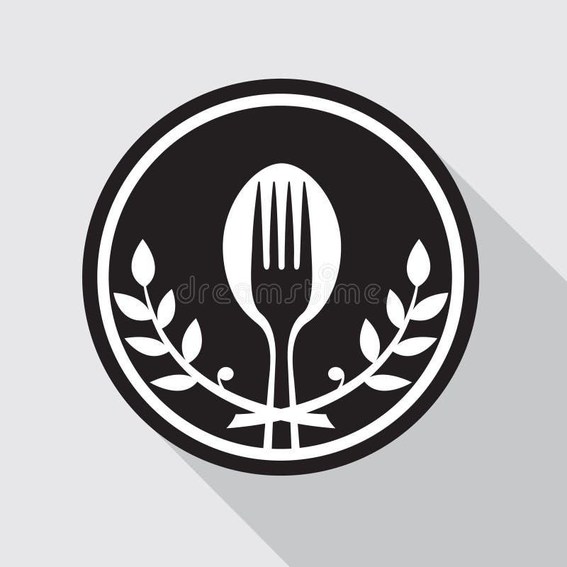 Icono de la comida stock de ilustración
