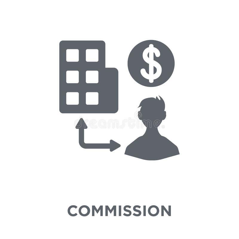 Icono de la Comisión de la colección stock de ilustración
