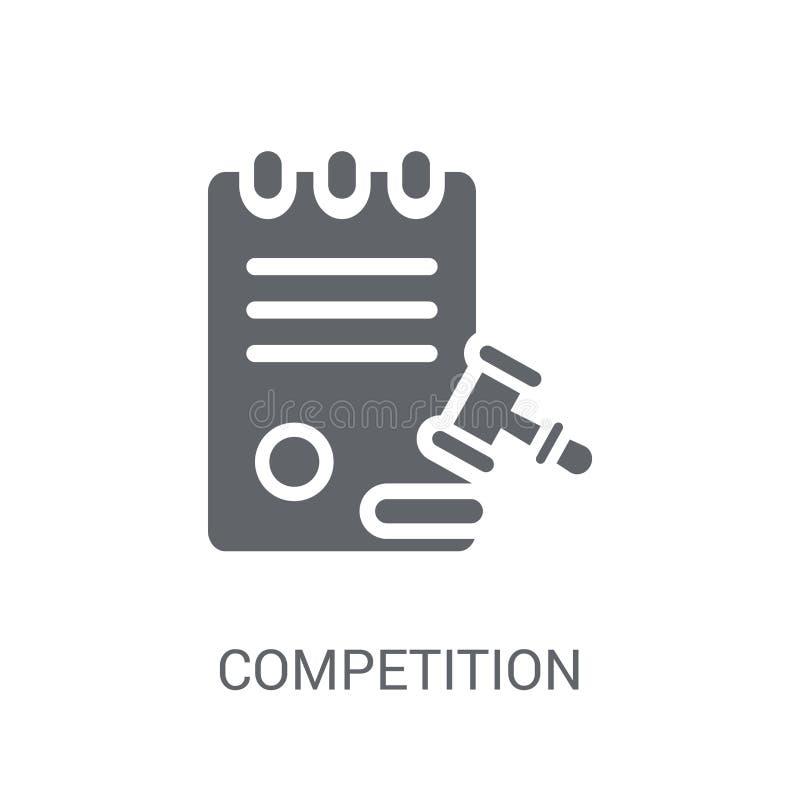 Icono de la Comisión de la competencia  ilustración del vector