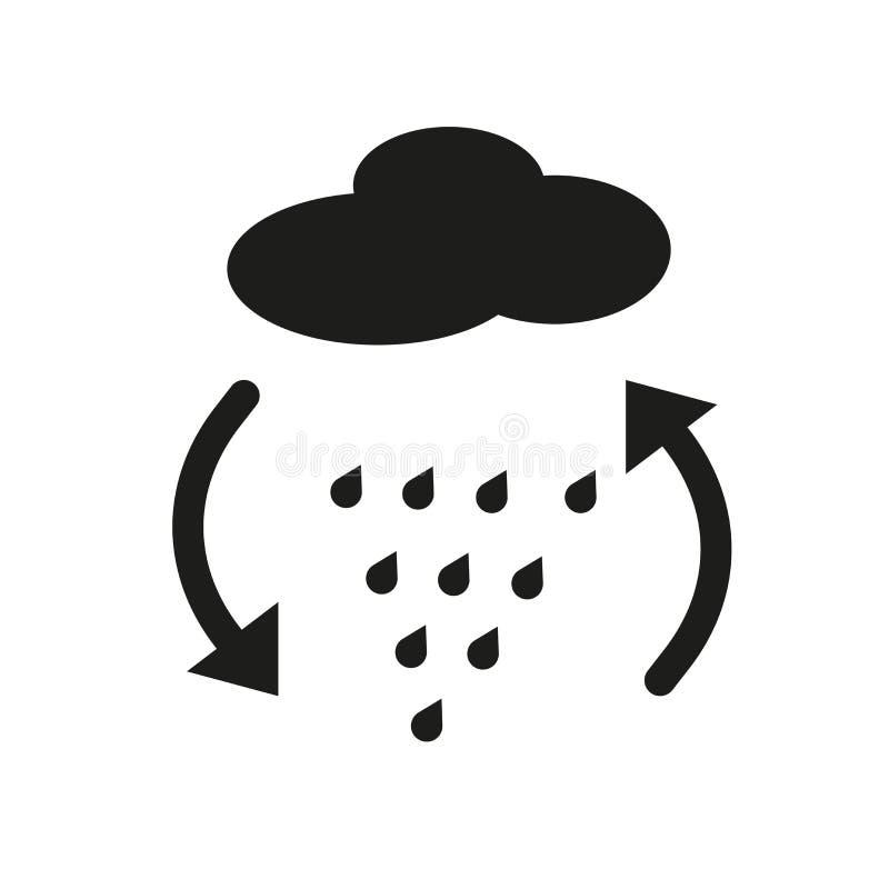 icono de la convergencia Concepto de moda del logotipo de la convergencia en el backg blanco ilustración del vector