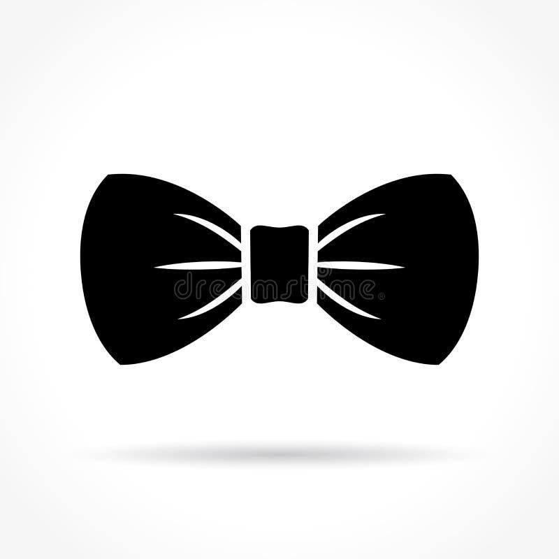 Icono de la corbata de lazo stock de ilustración