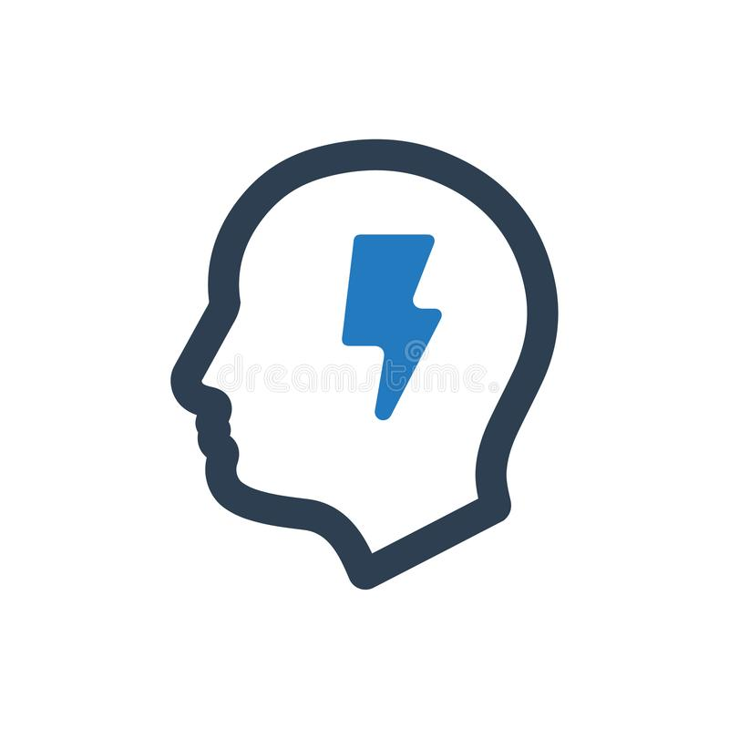 icono de la creatividad ilustración del vector