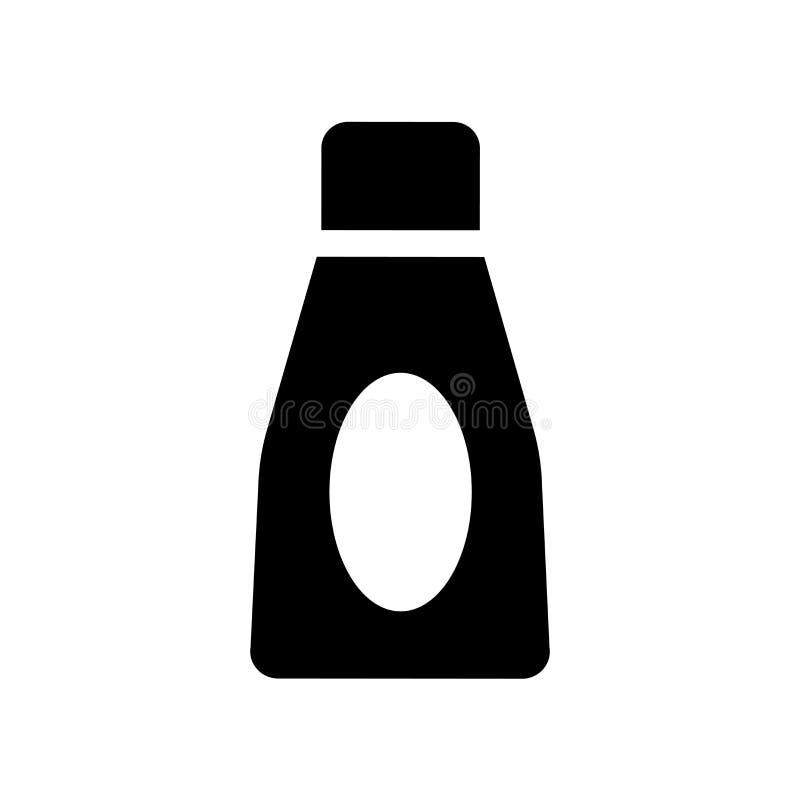 Icono de la crema de cara  ilustración del vector