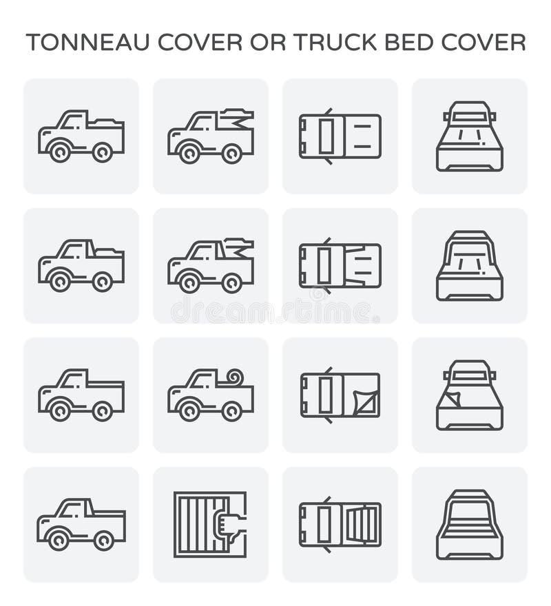 Icono de la cubierta del Tonneau stock de ilustración
