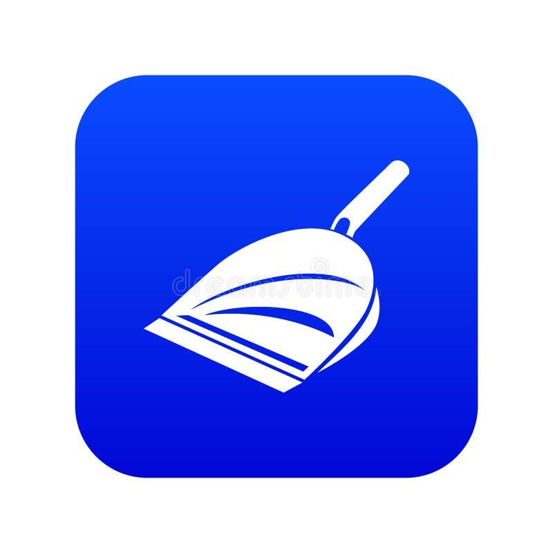 Icono de la cucharada, estilo simple ilustración del vector