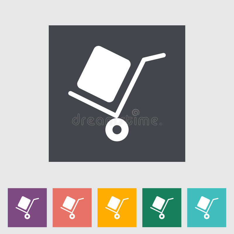 Icono de la entrega stock de ilustración