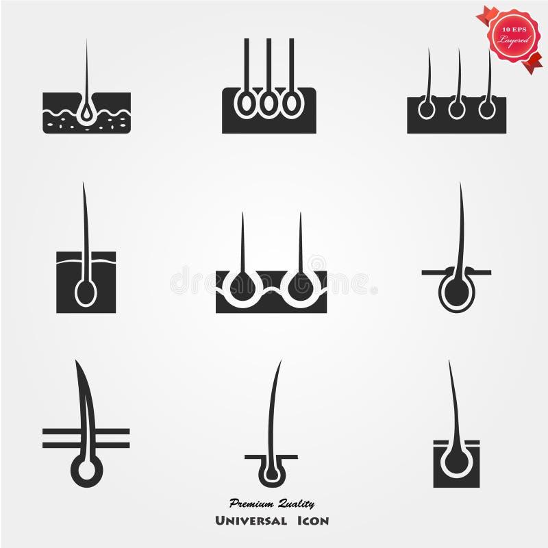 Icono de la epidermis libre illustration
