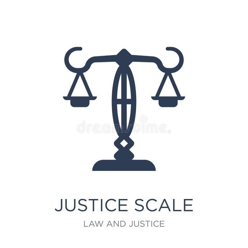 Icono de la escala de la justicia  libre illustration
