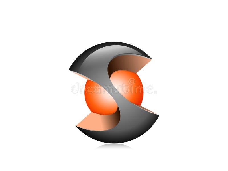 Icono de la esfera imagenes de archivo