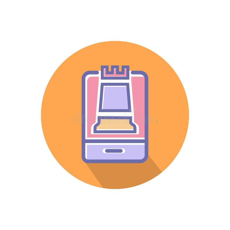 Icono de la estrategia E libre illustration