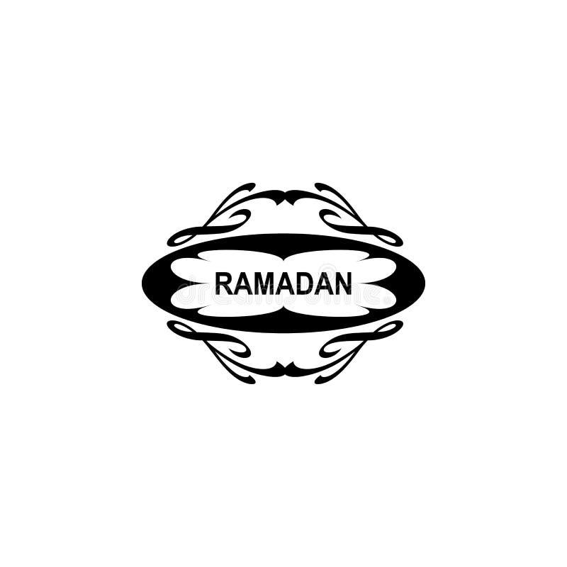 icono de la etiqueta engomada del Ramad?n Elemento del icono del Ramad?n Icono superior del dise?o gr?fico de la calidad Muestras libre illustration