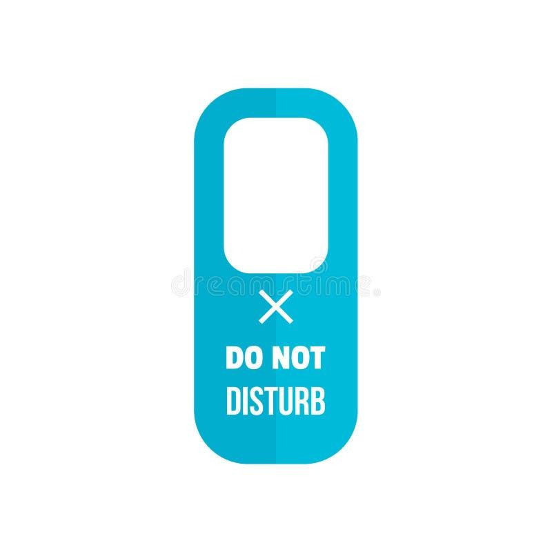 Icono de la etiqueta de la suspensión, estilo plano libre illustration