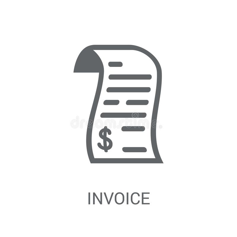 Icono de la factura  libre illustration