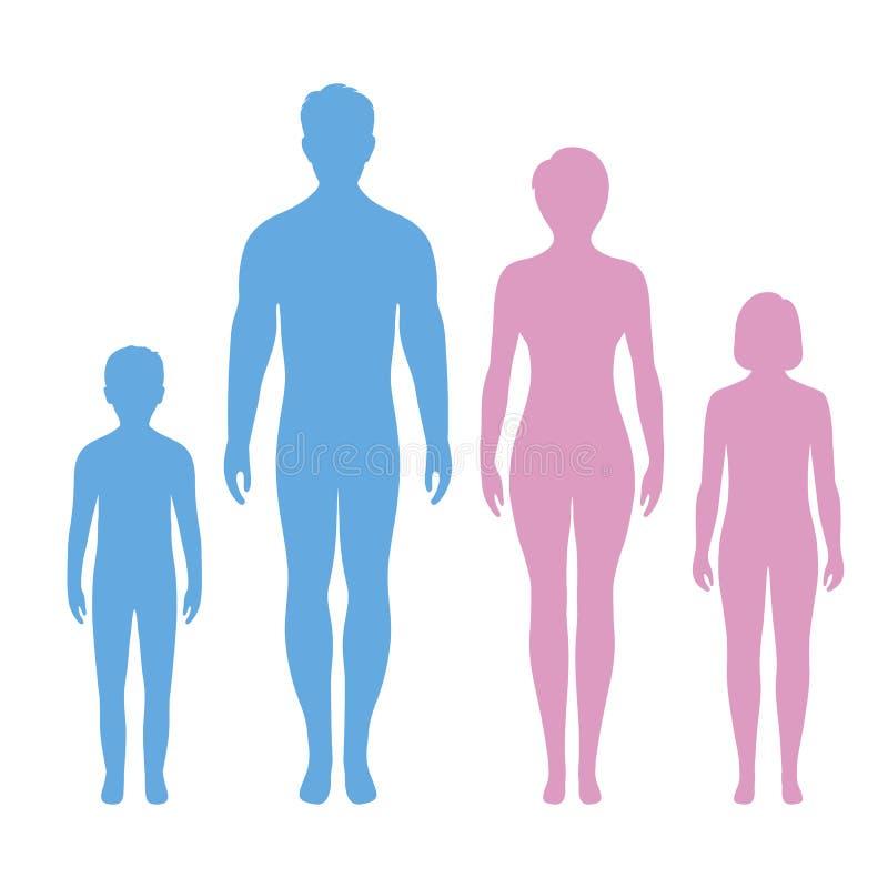 Icono de la familia en estilo de moda aislado Símbolo para su diseño del sitio web, logotipo, app, UI de los padres libre illustration