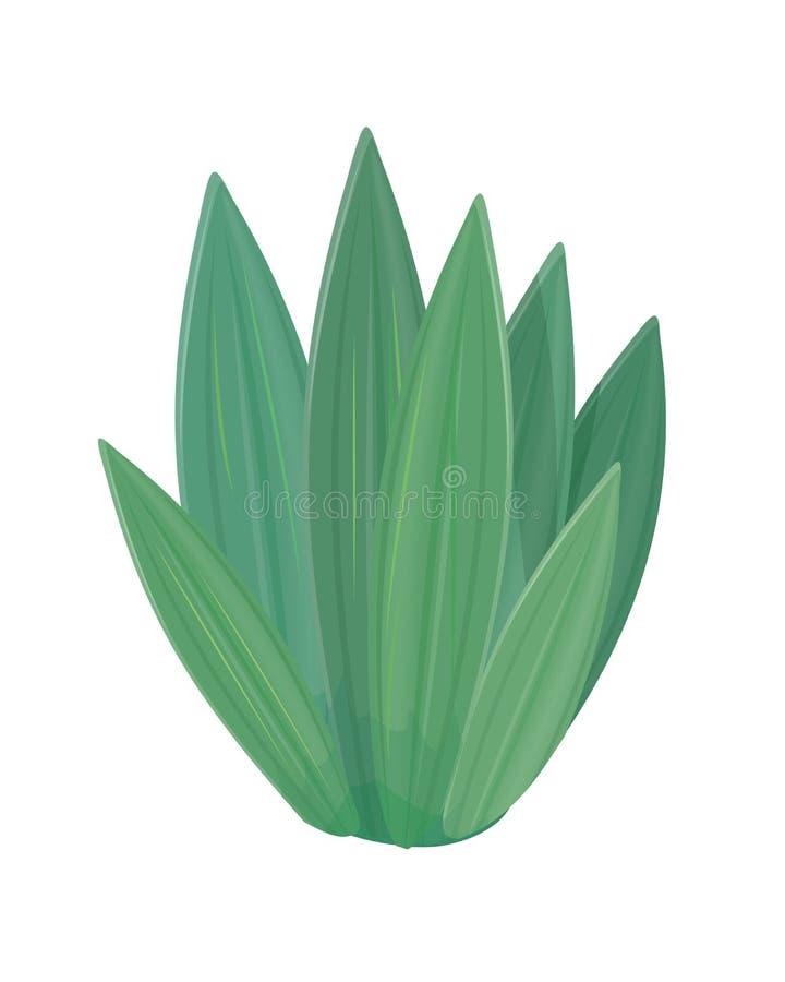 Icono de la flor en diseño plano del estilo Naturaleza verde libre illustration