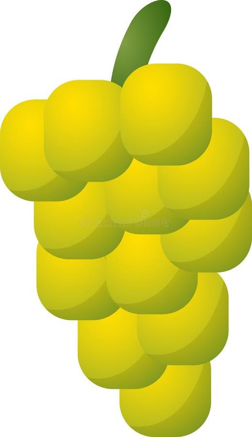 Icono de la fruta de las uvas libre illustration